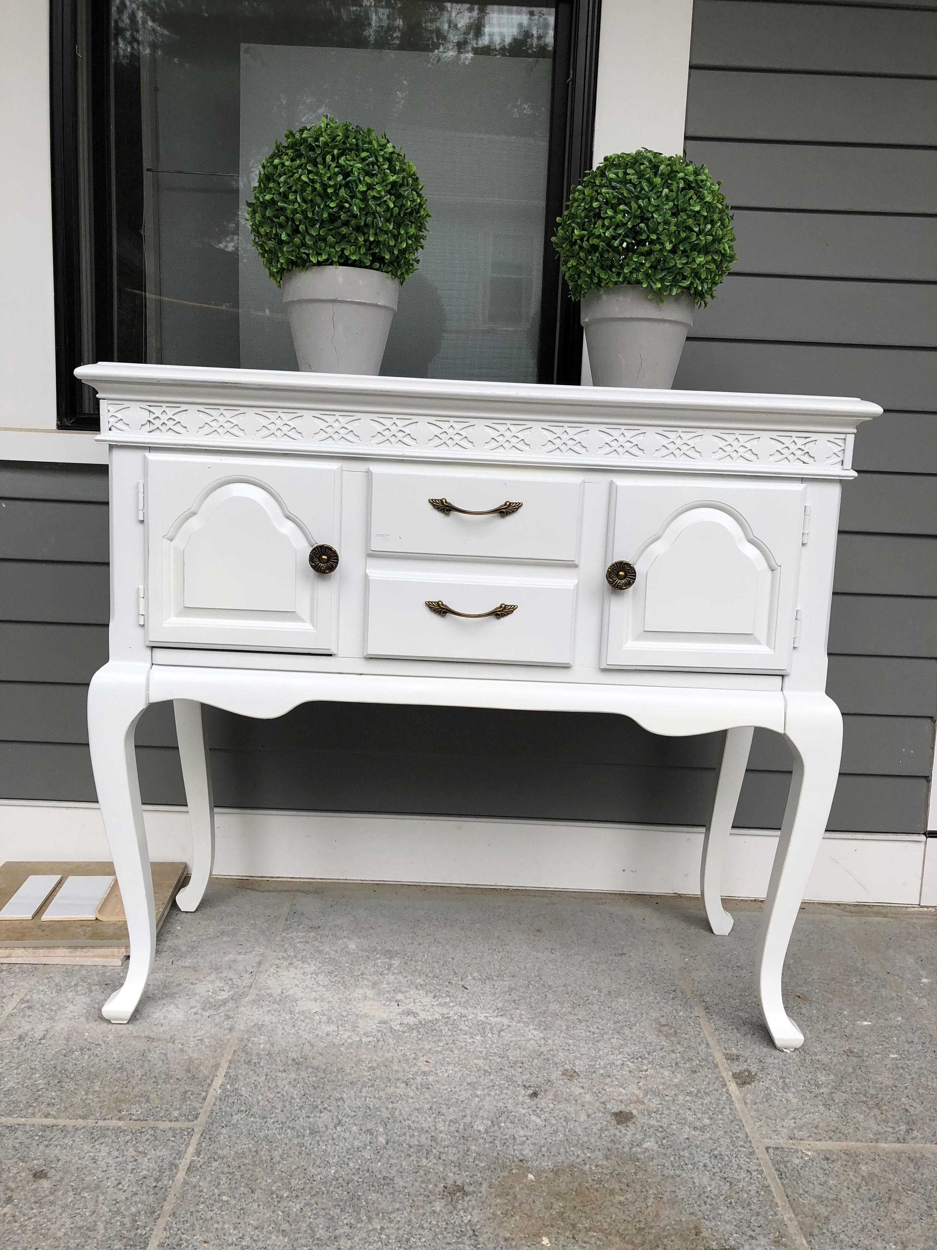 Shabby Chic Dresser Party Perfect